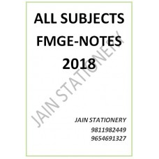 All Subjects MIST Hand Written Notes 2018