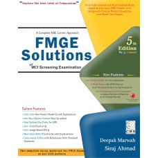 FMGE Solutions-MCI Screening Examination 5th Edition 2019 By Deepak Marwah, Siraj Ahmad