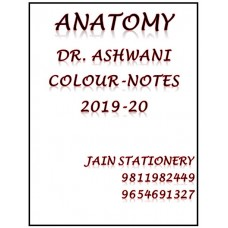 Anatomy Notes Handwritten Colour By Ashwani Kumar