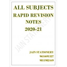 All Subjects Rapid Revision (Color Printed) Notes 2020: 2 Volume Set