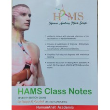 Human Anatomy Made Simple (HAMS) Class color Notes By Dr Rajesh Kaushal; 2020