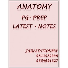 Anatomy PG-Prep Printed Colour Notes 2020-21