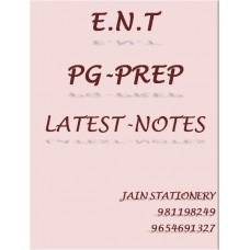 ENT PG-Prep Printed Color Notes 2020-21