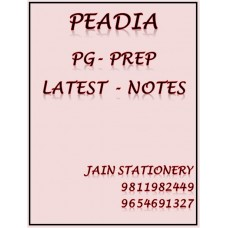 Pediatrics PG-Prep Colour Printed Notes 2020-21