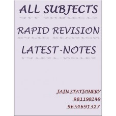 All Subjects Rapid Revision Color Printed Notes: 2 Volume Set