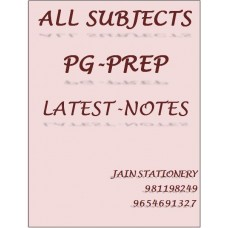 ALL SUBJECTS PG PREP COLOR PRINTED NOTES 2020-21