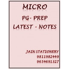 Microbiology PG-Prep Colour Printed Notes 2020-21
