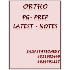 Orthopaedics PG-Prep Colour Printed Notes 2020-21