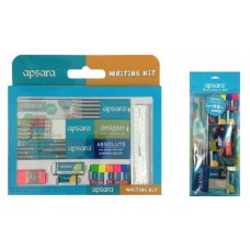 Apsara Writing kit and Scholar Kit Combo