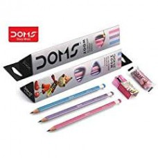 Doms Zoom Triangle Pencils (Pack Of 40)