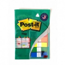 3M Post-It Flags 1.25cm X 4.37cm Size (60 Flages) Multi Colours, Pack Of 2
