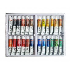 Camlin Kokuyo Artist 5 ml Water Color Tube - 24 Shades (Multicolor)