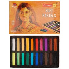 Camlin Kokuyo 20-Shade Soft Pastel Set