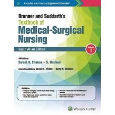 Brunner & Suddarth's Textbook of Medical Surgical Nursing South Asian Edition 2018 (2 Volume set) By Suresh k Sharma