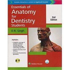 Essentials Of Anatomy For Dentistry Students 2nd Edition 2017 By DK Singh