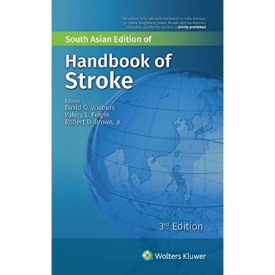 Handbook Of Stroke 3rd Edition 2019 By David O. Wiebers Robert D.Brown Jr