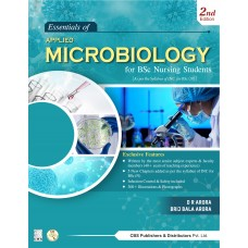 Essentials of Applied Microbiology for BSc Nursing Students 2nd Edition 2021 By D R Arora, Brij Bala Arora