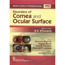 Modern System of Ophthalmology Disorders of  Cornea and Ocular Surface 1st Edition 2020 By Ak khurana