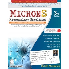 MICRONS Microbiology Simplified;3rd Edition 2020 By Malathi Murugesan