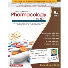 Conceptual Review of Pharmacology for NBE 5th Edition 2020 By Ranjan Patel