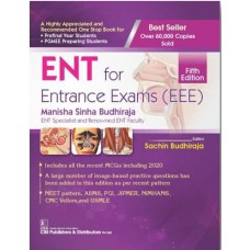 ENT for Entrance Exam (EEE) 5th Edition 2020 By Manisha Sinha Budhiraja