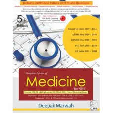 Complete Review of Medicine for NBE 5th Edition 2019 By Deepak Marwah