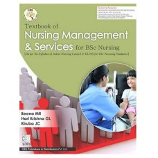 Textbook of Nursing Management & Services for BSc Nursing;1st Edition 2020 By Beena MR