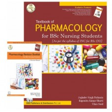 Textbook Of Pharmacology For BSc Nursing Students;1st Edition 2017 By Joginder Singh Pathania