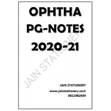 Ophthalmology Dams PG Hand Written Notes 2020-21