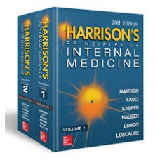 Harrison's Principles of Internal Medicine 20th Edition 2018 (Volume 1 & 2) by Jameson Afuci Dennis L. Kasper