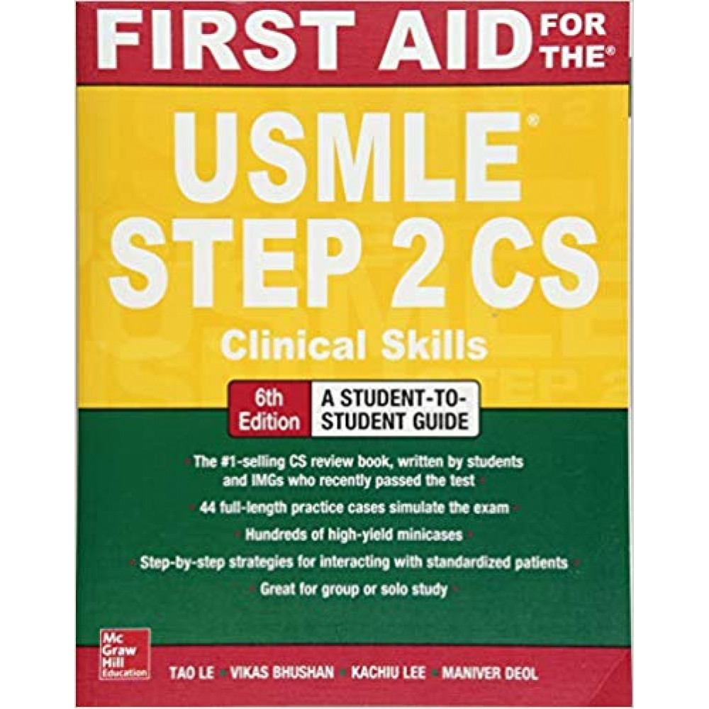 FIRST AID FOR THE USMLE STEP 2CS