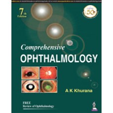 Comprehensive Ophthalmology with Free Review of Ophthalmology 7th Edition 2019 By AK Khurana