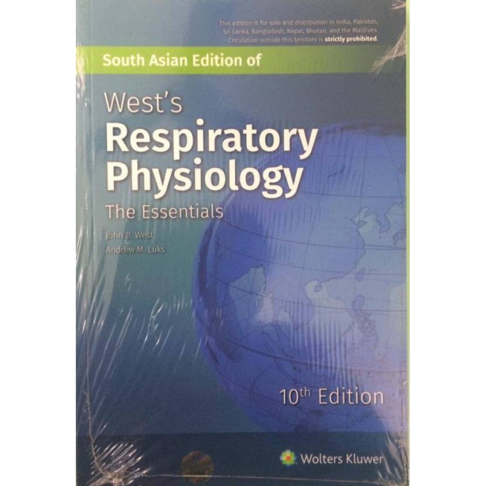 West's Respiratory Physiology, 10/e