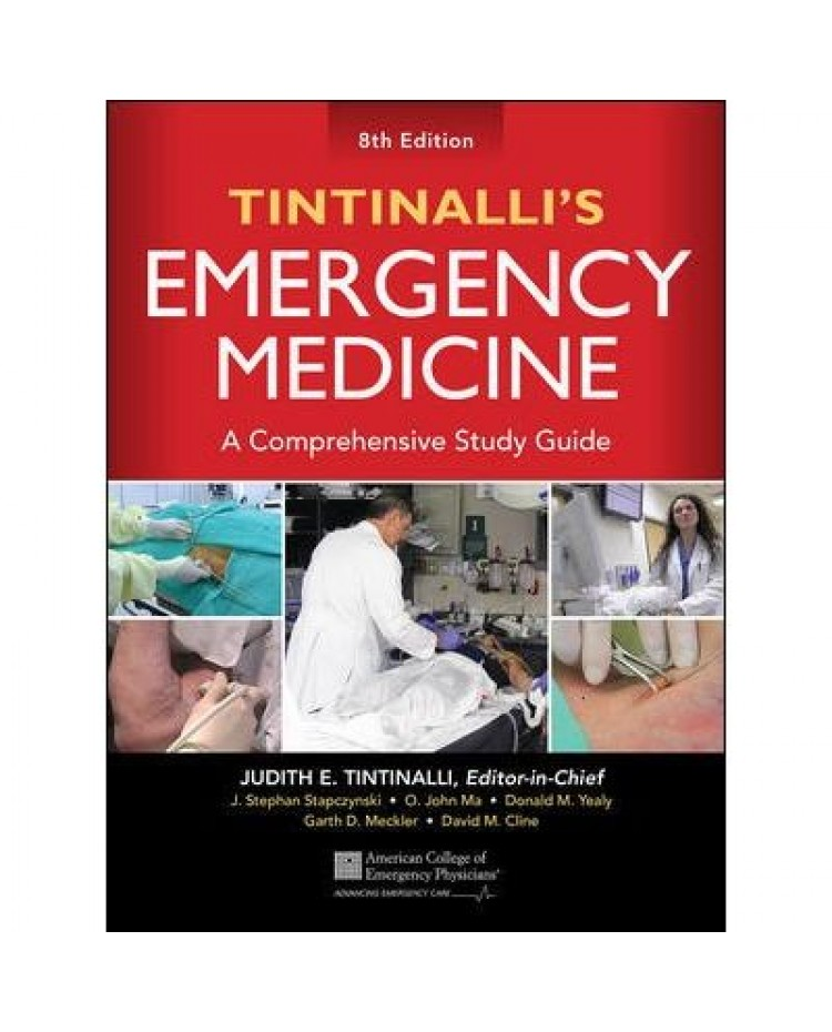 Tintinalli's Emergency Medicine A Comprehensive Study Guide 8th edition