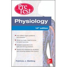 Physiology PreTest Self-Assessment and Review 14th Edition by Patricia Metting