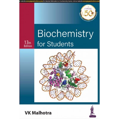 Biochemistry for Students (13 th Edition)